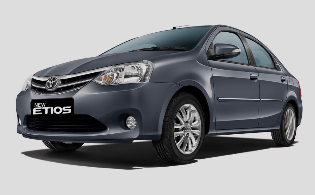 Toyota Etios on rent in Pune