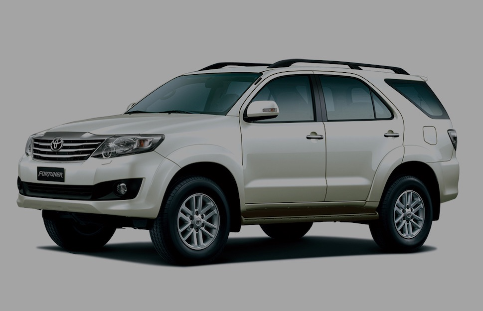 toyota fortuner hire pune