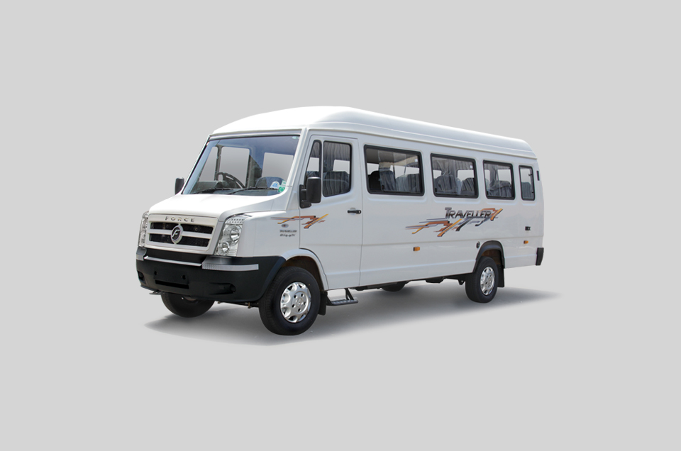 New 13 Seater Tempo Traveller for hire in Pune, Mumbai