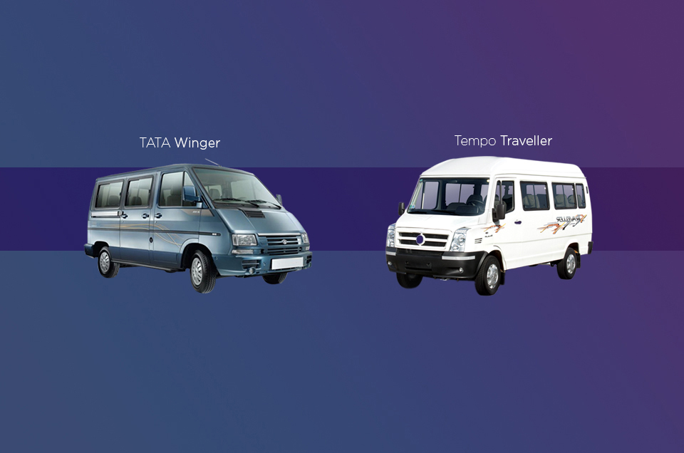 Tata Winger Vs Tempo Traveller