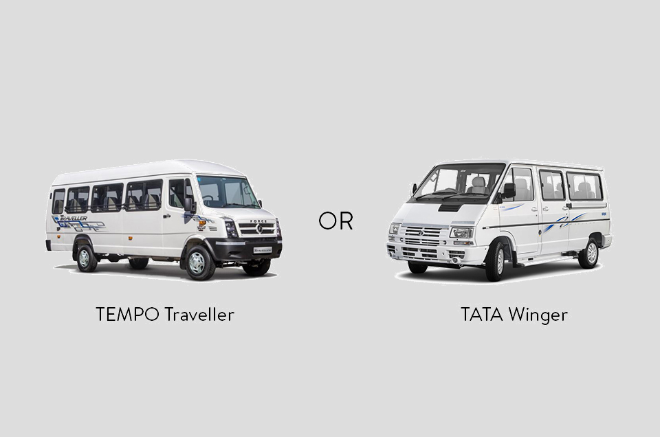 TATA Winger Or TEMPO Traveller. Confused?