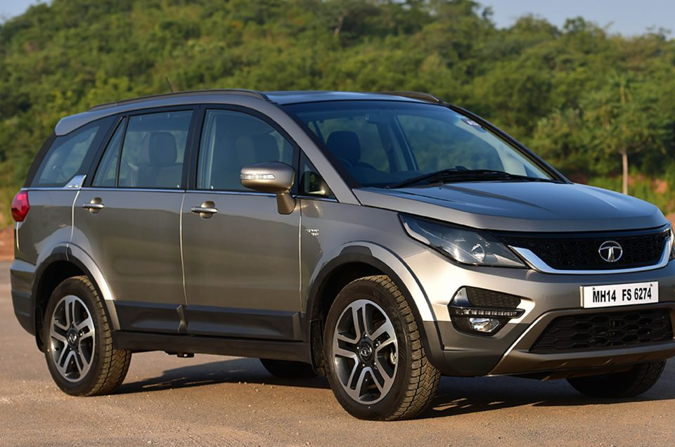 Hire A Tata Hexa In Pune