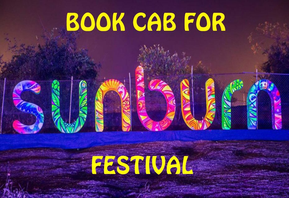 Book a Car for Sunburn Festival Pune